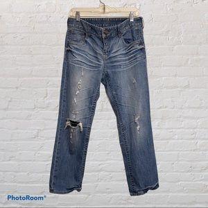 🤍Express Boyfriend Crop Jeans